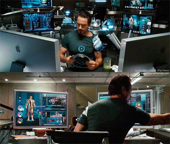 初代アイアンマンはMacで作られていた!?