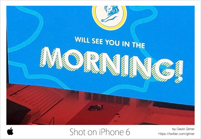本家「Shot on iPhone 6」もOUTDOOR部門でGOLD。